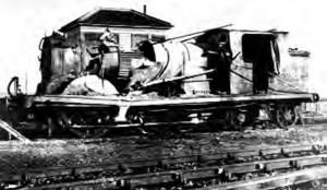 blown up train lydd