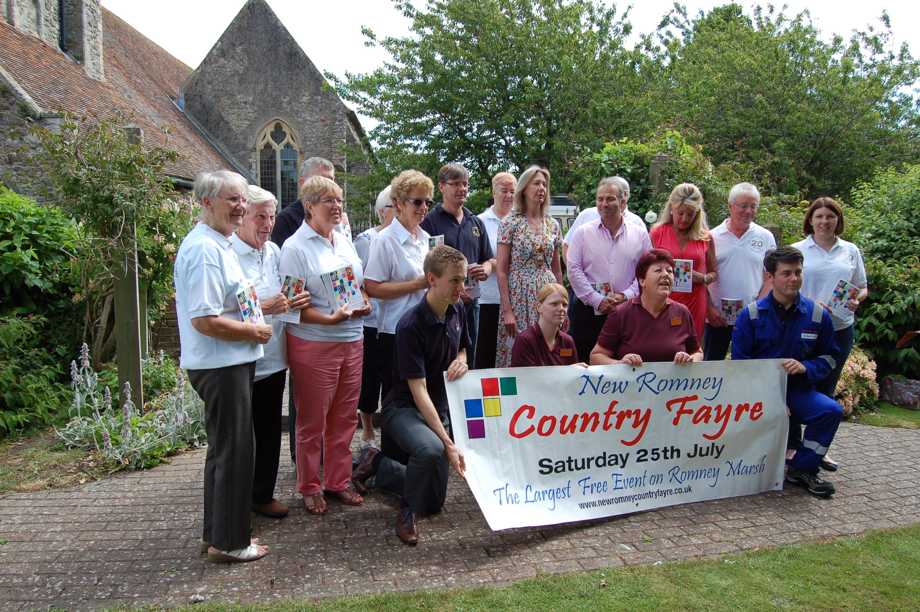 New Romney Country Fayre Comes of Age Saturday 25th July