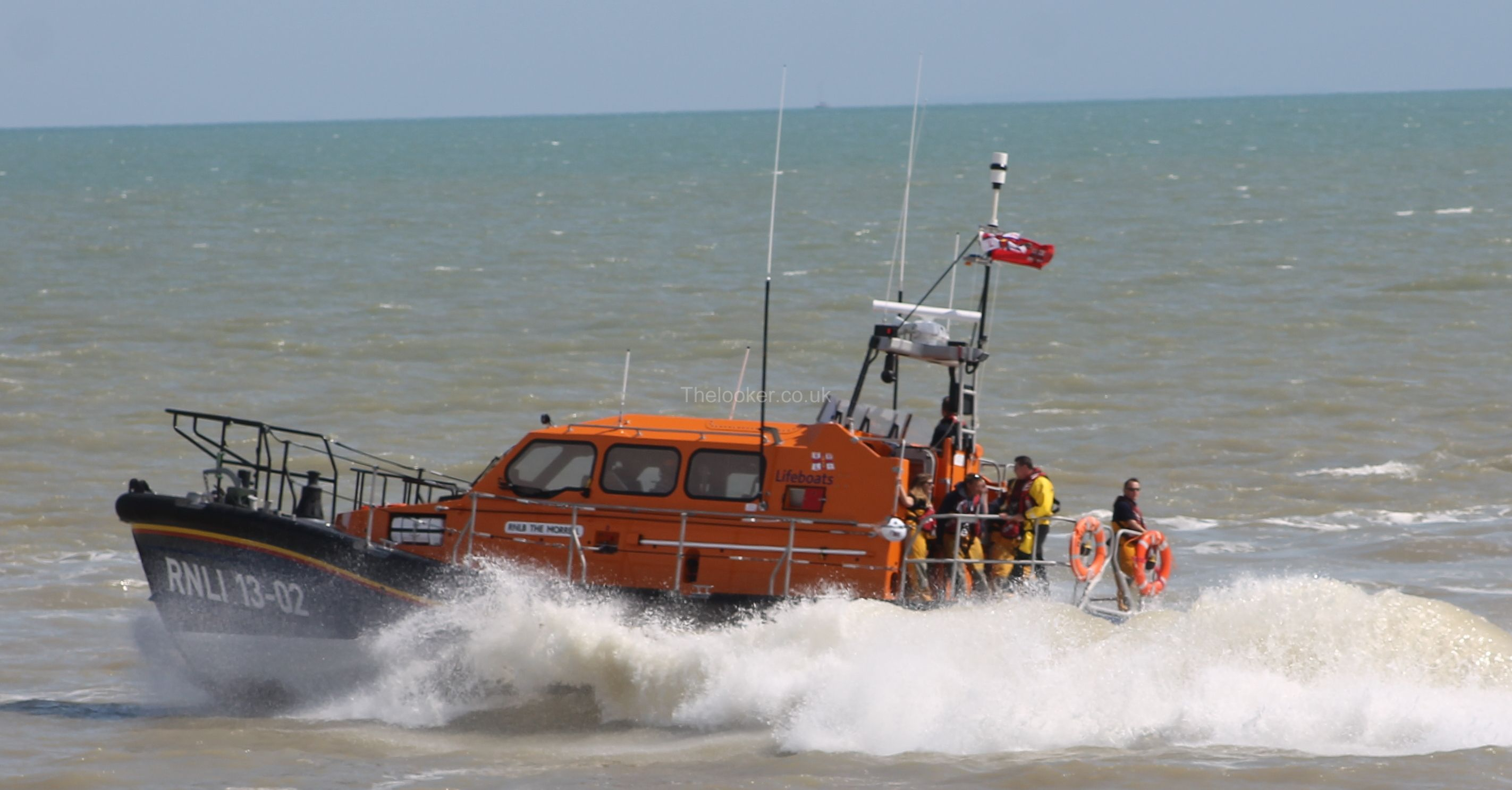 Lifeboat comes to the rescue of Stricken Motor Cruiser