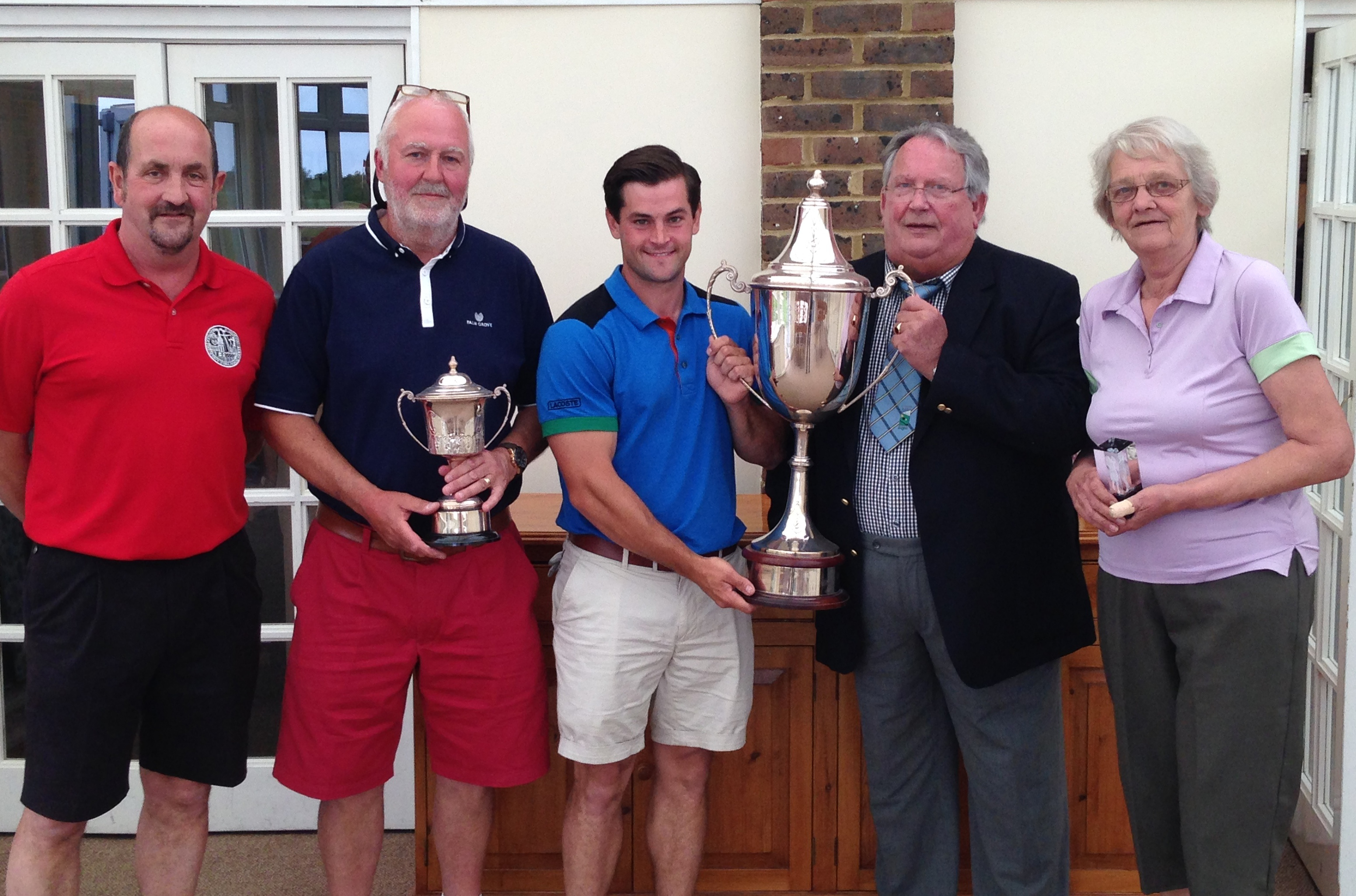 Presidents Day attracts huge field at  Lydd Golf Club
