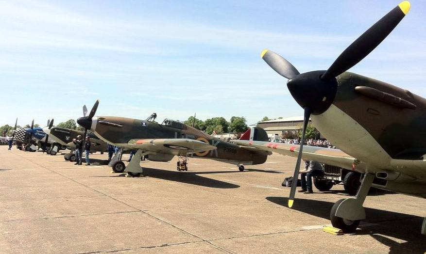 Biggin Hill will be packed with veteran air crew commemorating the anniversary