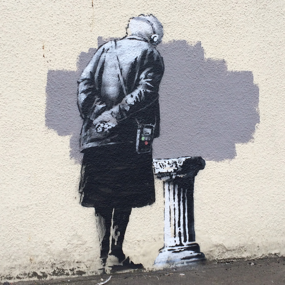Banksy should be returned to folkestone