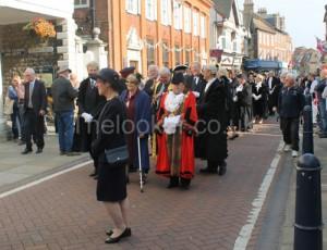 Parade for Cinque Ports Federation