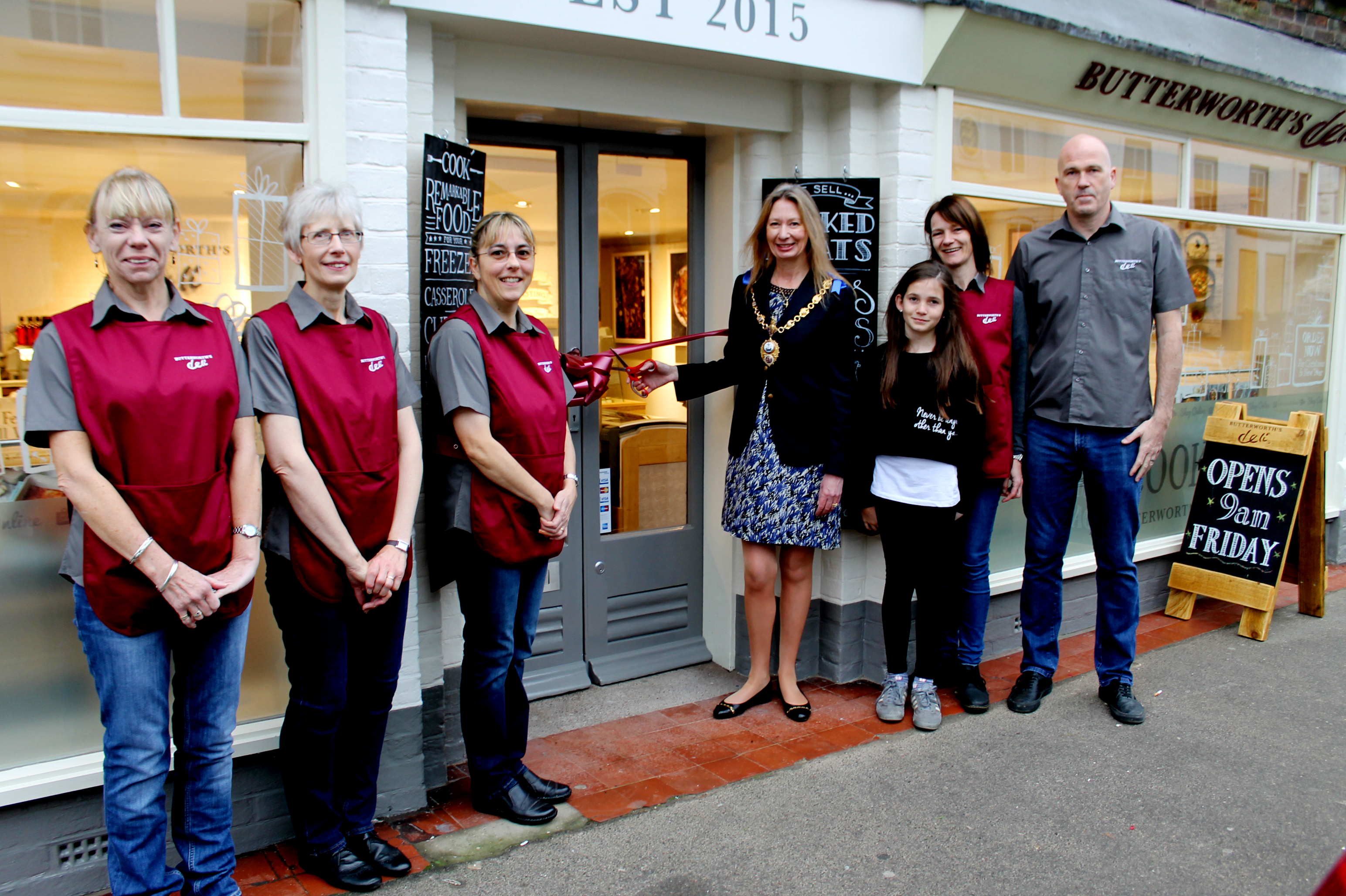Butterworth's Deli opens for Business