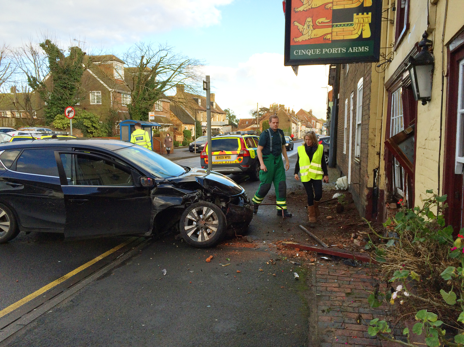 Lucky Escape For Pub Regulars