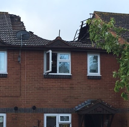 New Romney family saved from serious blaze by smoke alarm