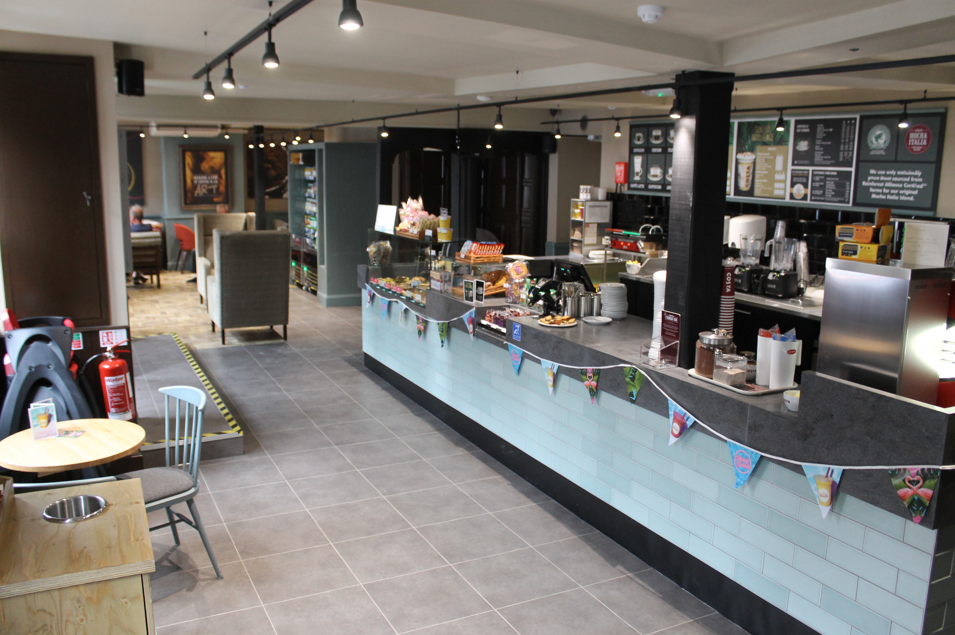 New Costa Coffee Shop opens its doors for business