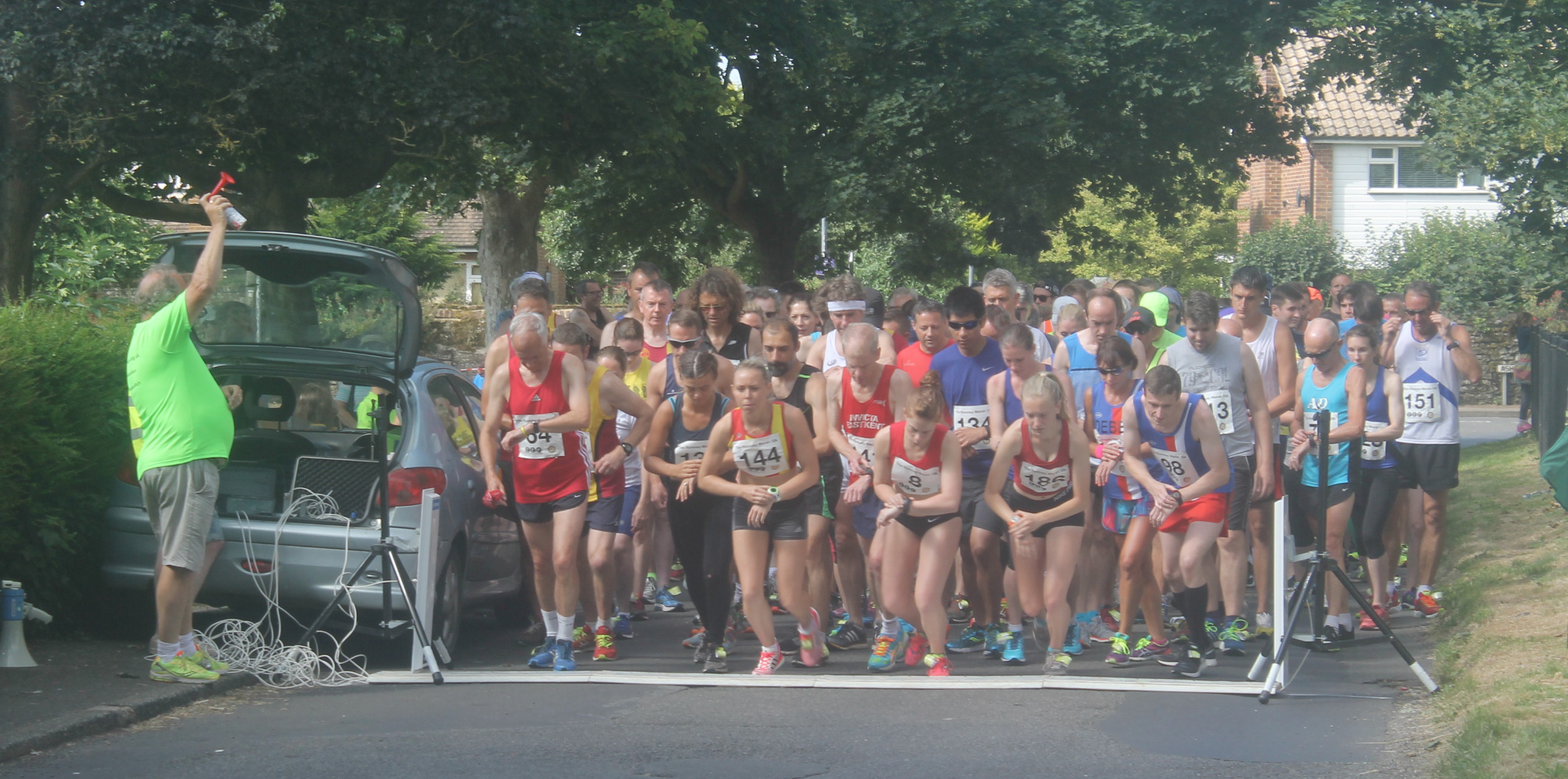 Over 200 entries for the New Romney 10K