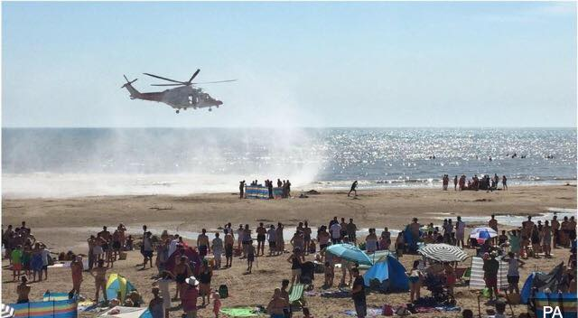 Tragedy at the beach, as three lose their lives at camber sands