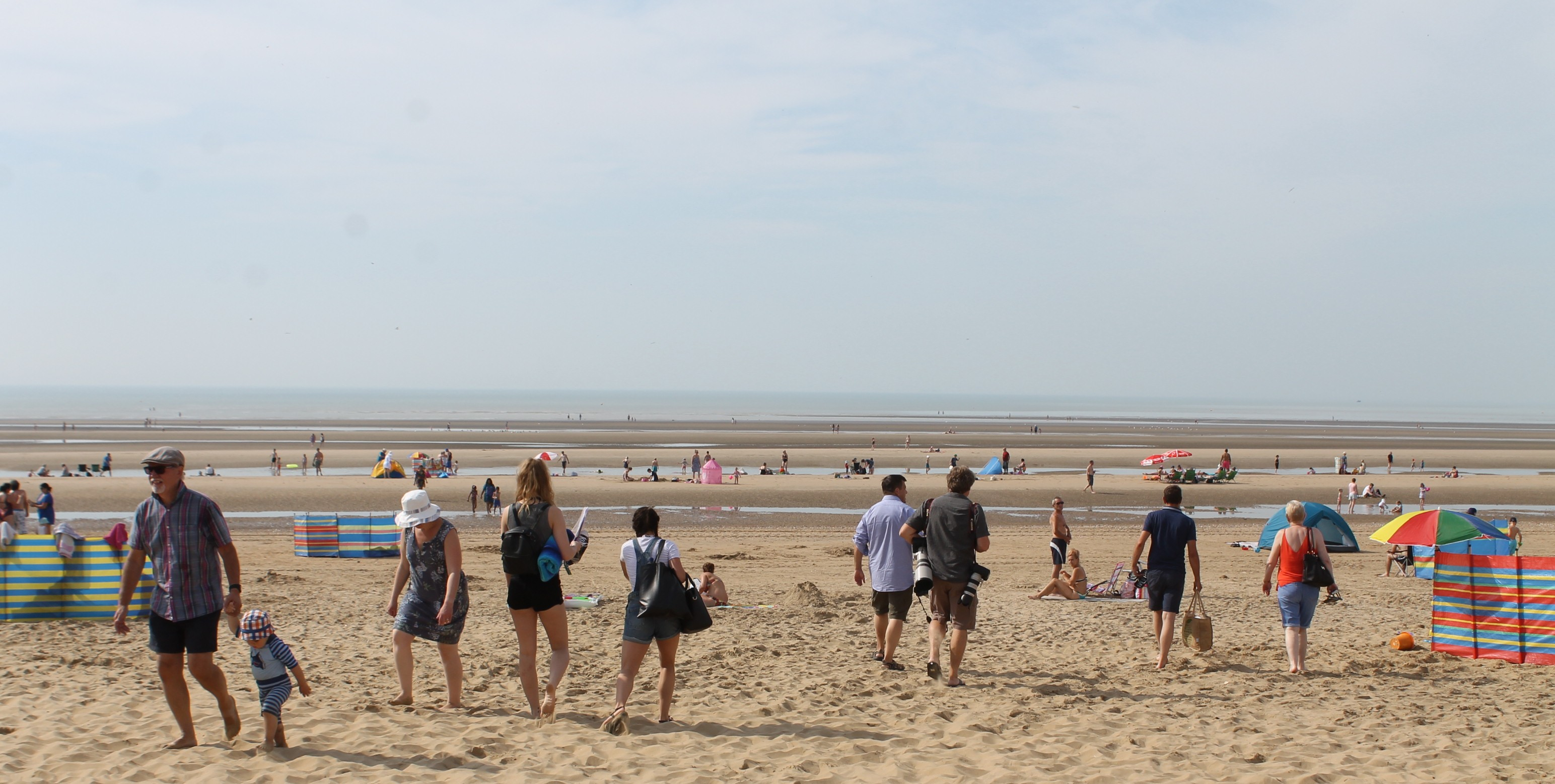 Camber Sands beach Update