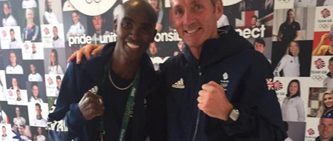Going for Gold with 5000 and 10,000 medallist Mo Farah
