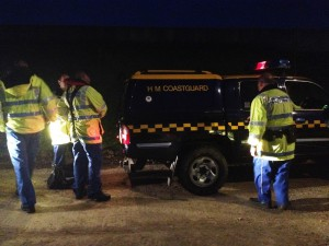 coast gaurd search for missing man