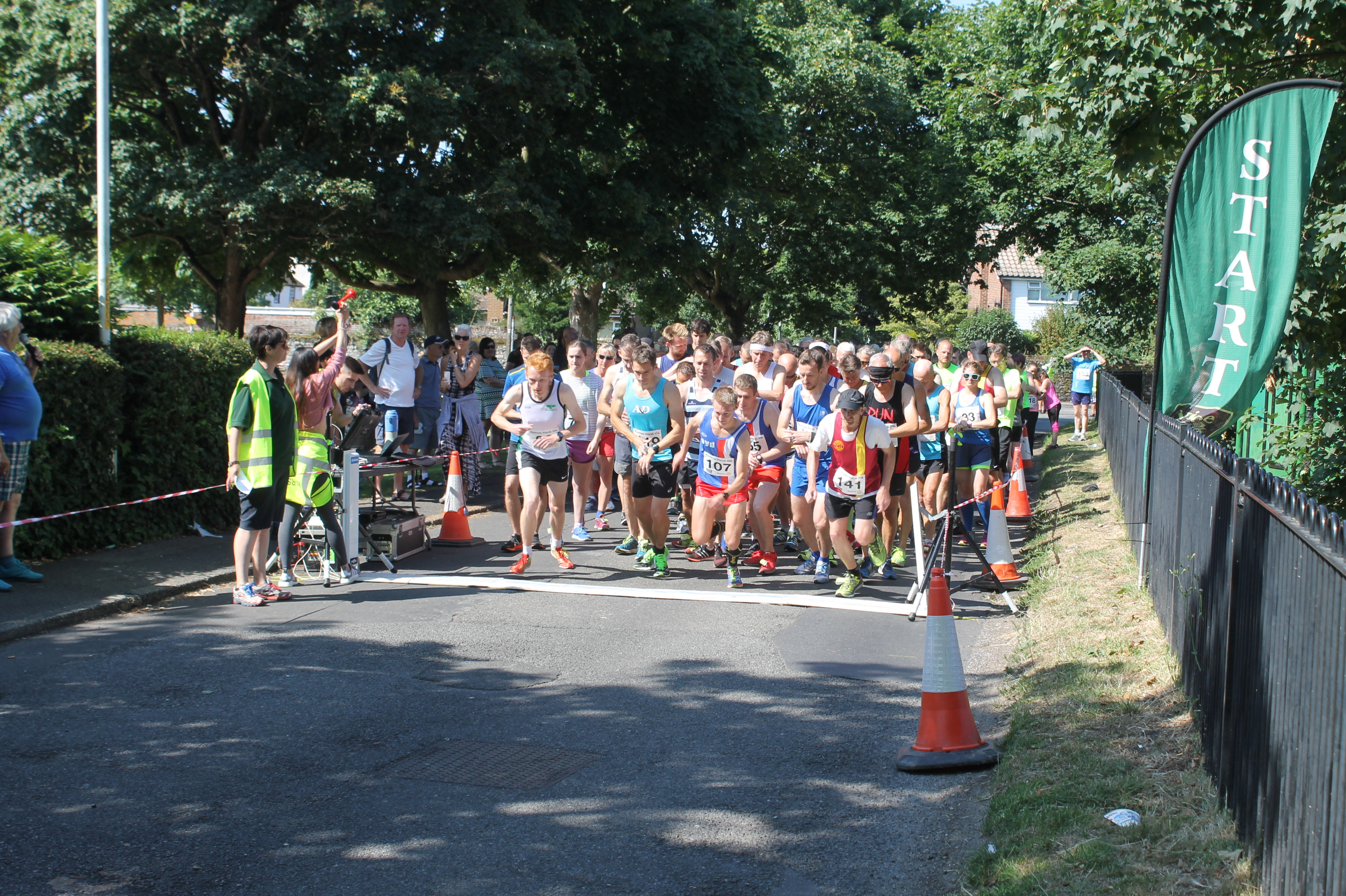Annual 10K attracts nearly 150 runners