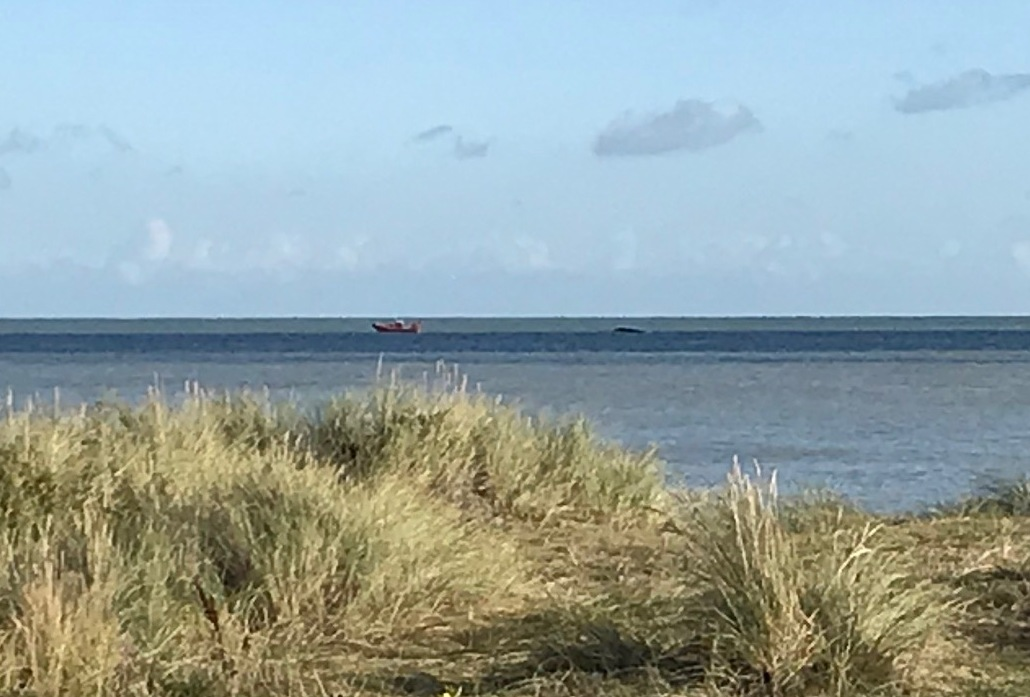 Two Lifeboats launched to upturned speedboat