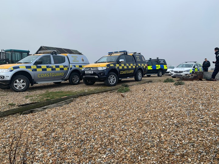 Early morning job for local coastguards
