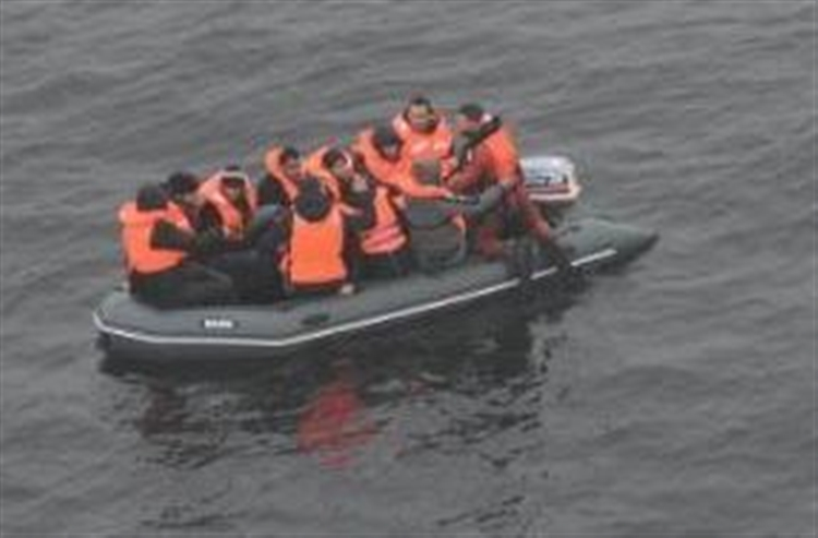 Breaking News:  Migrants Interception  in the Channel this morning