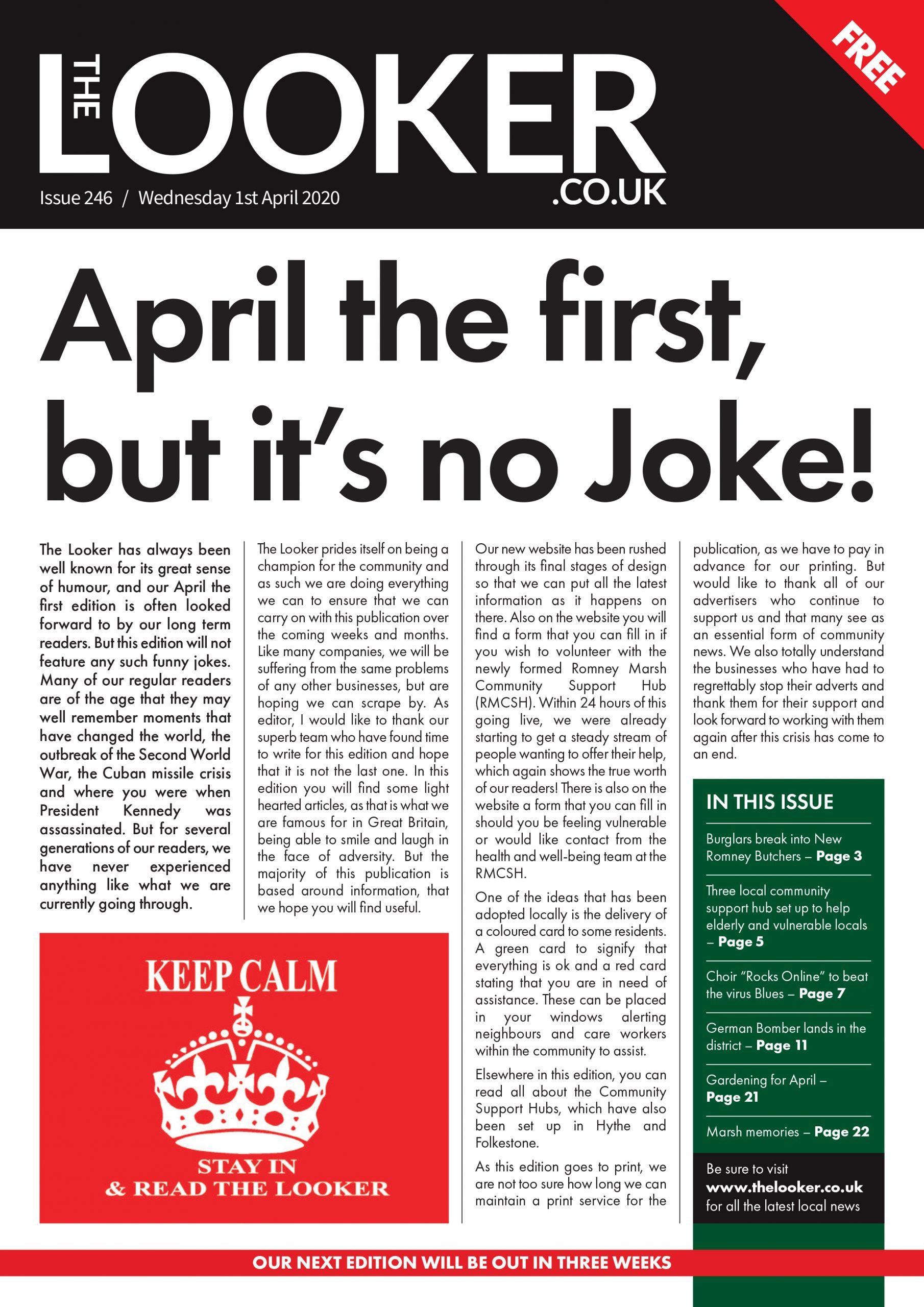 The Looker Newspaper