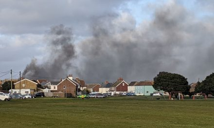 Fire in lydd workshop