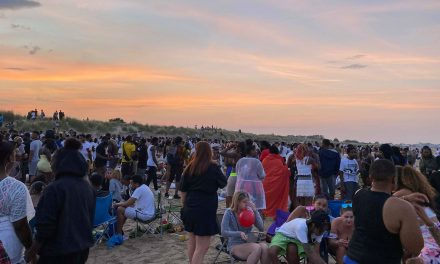Seaside carnage as Illegal party descends on Greatstone